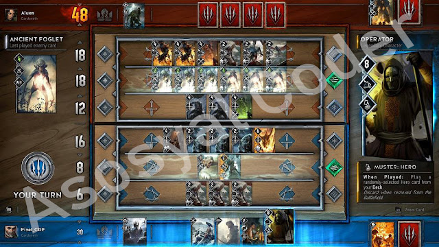 gwent, the, witcher, card, incelemesi,