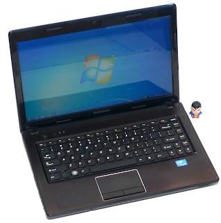 Laptop Lenovo G470 Second di Malang