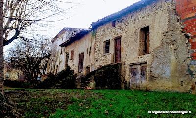 Le Bourg de Reignat, Puy-de-Dôme, Auvergne.