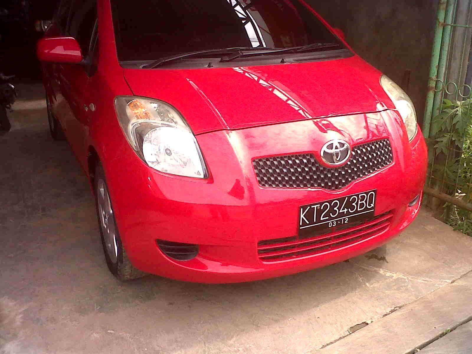 toyota yaris trd merah brand new camry for sale philippines iklan bisnis samarinda dijual mobil e manual