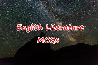 English Literature MCQs Quiz