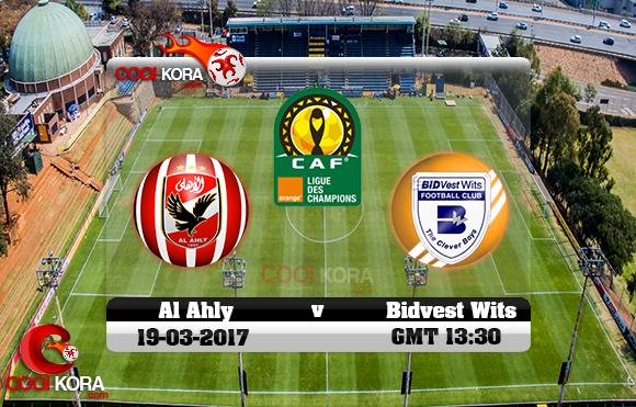 مشاهدة مباراة بيدفيست ويتس والأهلي اليوم 19-3-2017 دوري أبطال أفريقيا