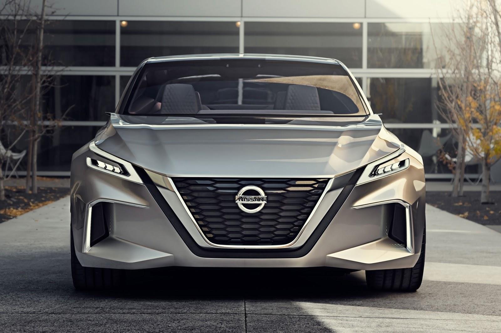 Η Nissan αποκαλύπτει το Vmotion 2.0, στο Σαλόνι Αυτοκινήτου του Detroit (NAIAS)
