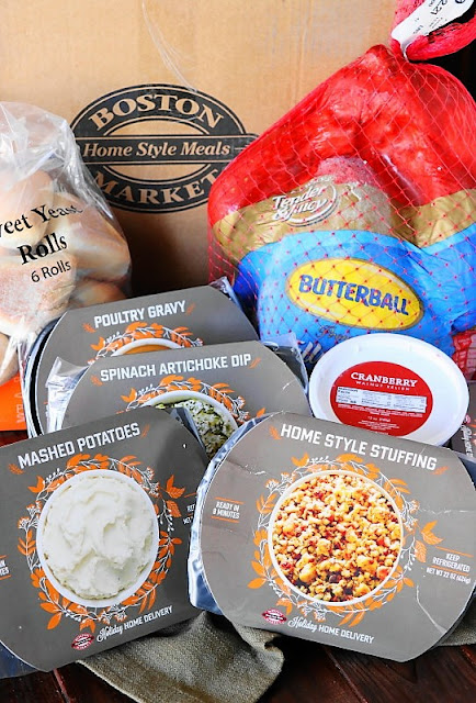 Boston Market Thanksgiving Home Delivery contents image