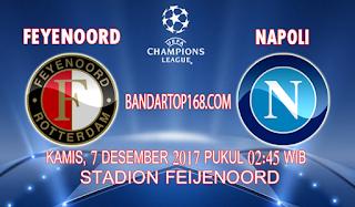 Prediksi Feyenoord vs Napoli 7 Desember 2017