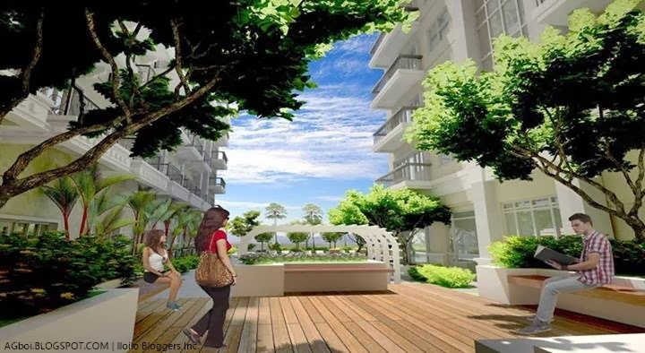 reading garden Lafayette Park Square 14 Storey Mediterranean Inspired Luxury Residence iloilo business park megaworld iloilo city agboi cafe ilonggo