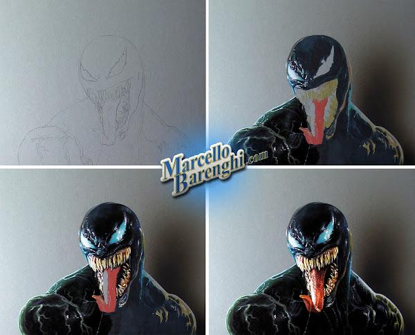 Drawing Venom Marcello Barenghi