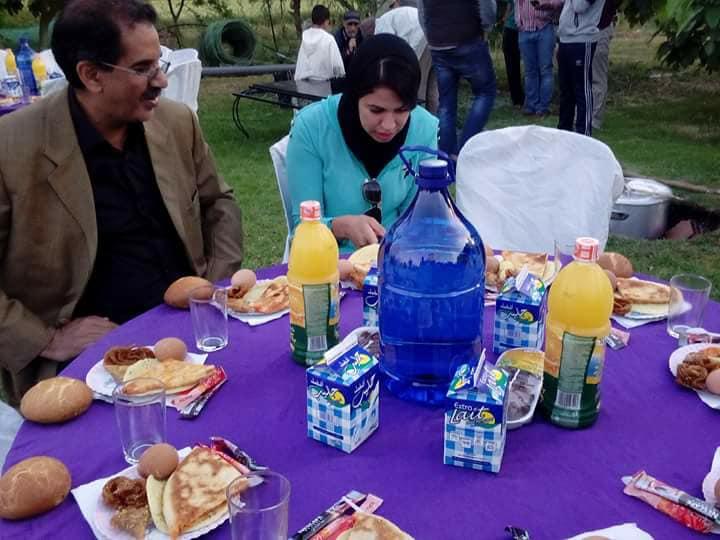 الفعاليات المدنية بجماعة بنمنصور تجتمع في إفطارا جماعي