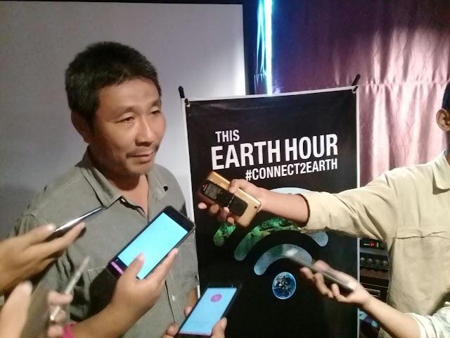 Earth Hour 2018 Jalan Rahadi Usman Pontianak Ditutup, Catat Tanggalnya
