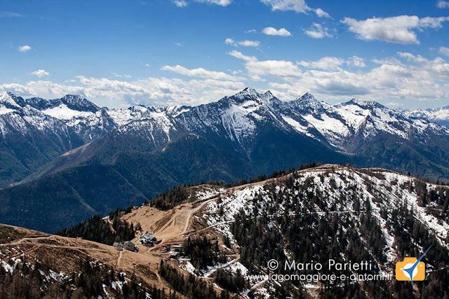 Panorama poco sopra la Piana di Vigezzo