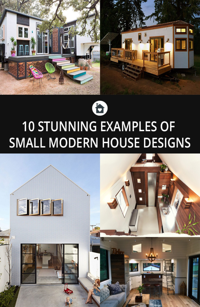 10 Beautiful Examples Of Small Modern House Designs