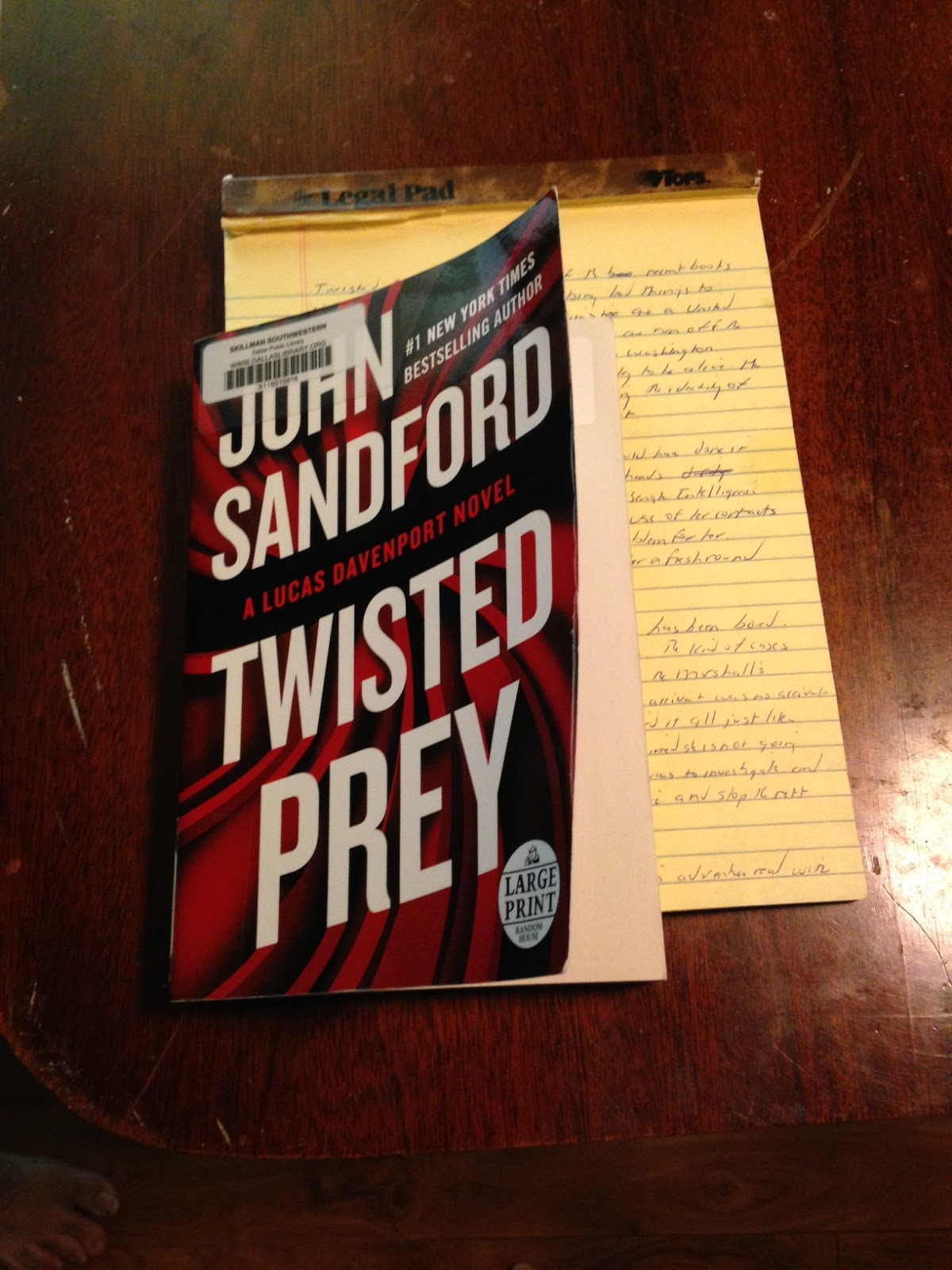 Review Twisted Prey A Lucas Davenport Novel By John Sandford