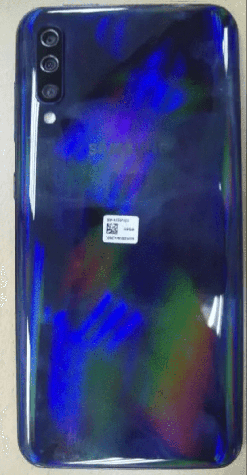 Samsung Galaxy A50 live image leaked online