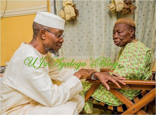 BREAKING: Governor Aregbesola Loses Mother