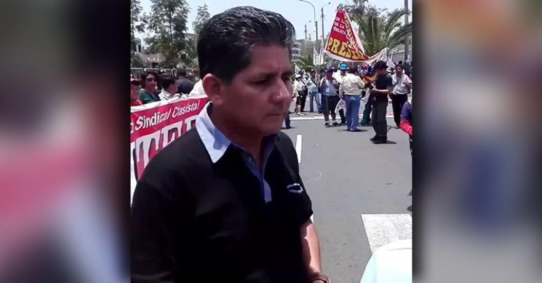 SUTEP: Maestros llegan al Ministerio de Educación para exigir diálogo [VIDEO]