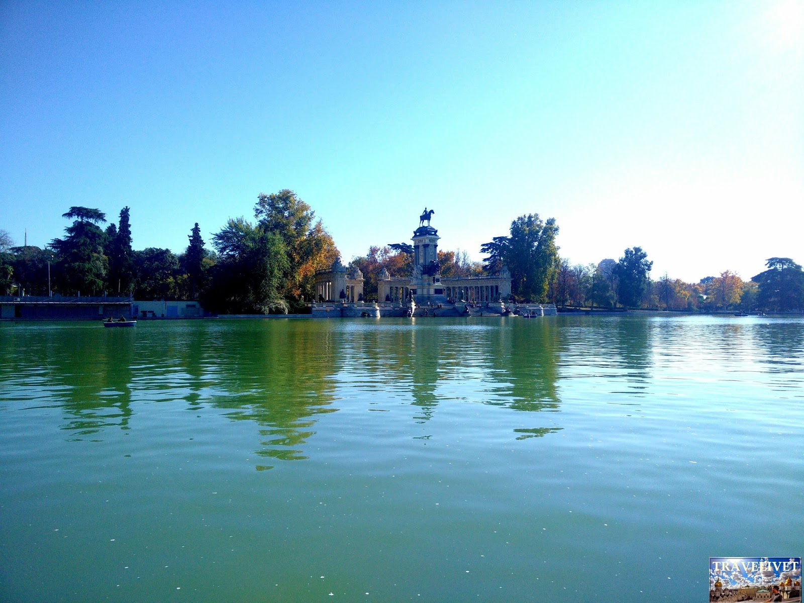 Espagne : Madrid : le parc Retiro