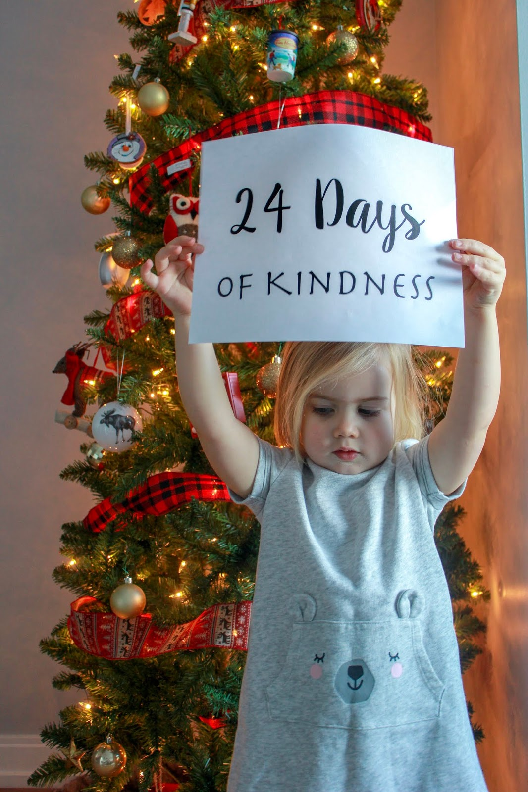 24 Days of Kindness for Preschoolers