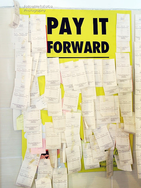 PAY IT FORWARD CONCEPT