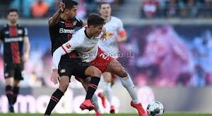 لايبزيغ يتعثر بالتعادل امام فريق باير ليفركوزن في الدوري الالماني