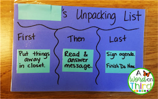 A Great Way To Give Additional Support To Students For Multi-Step Tasks - A Word On Third