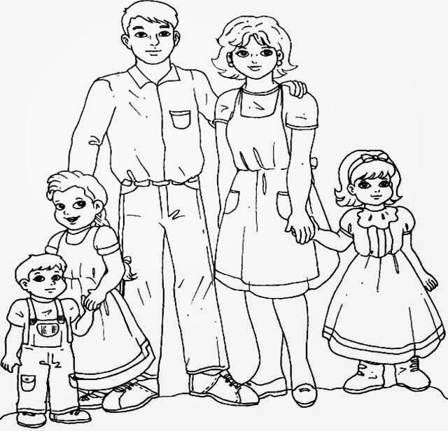 Картинки распечатать моя семья