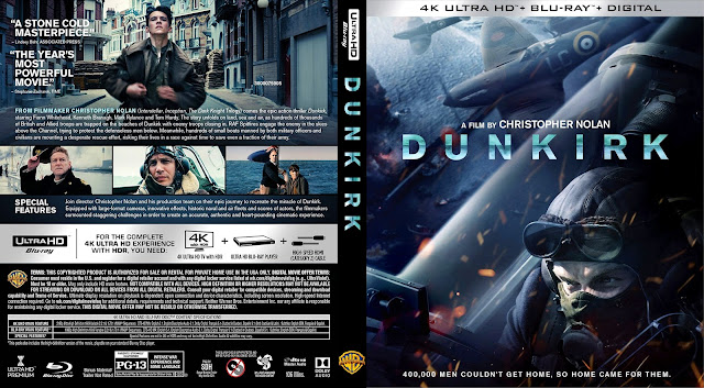 Dunkirk 4k Bluray Cover