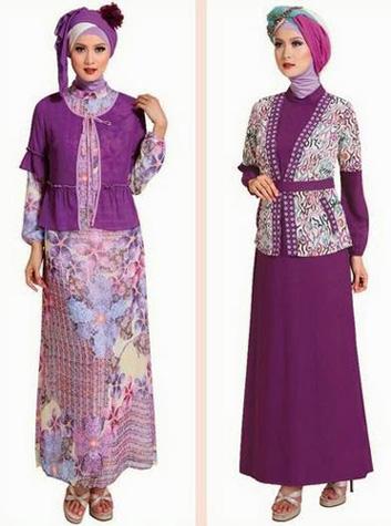 Desain Baju Muslim Brokat Terbaru Fashion Terkini