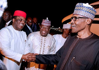 Buhari and Dave Umahi