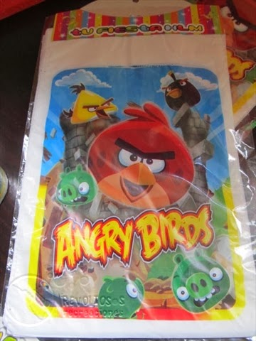 FIESTA TEMATICA ANGRY BIRTH