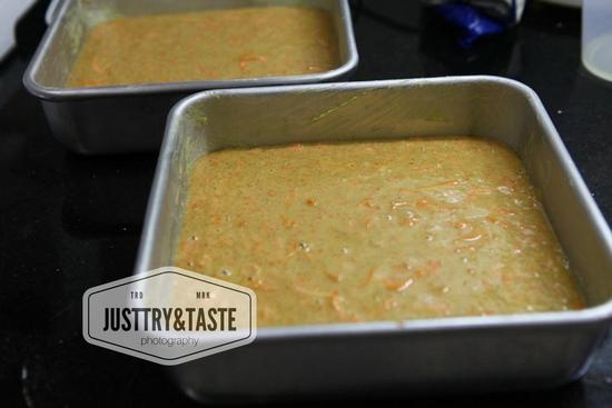 Resep Carrot Cake dengan Cream Cheese Frosting JTT