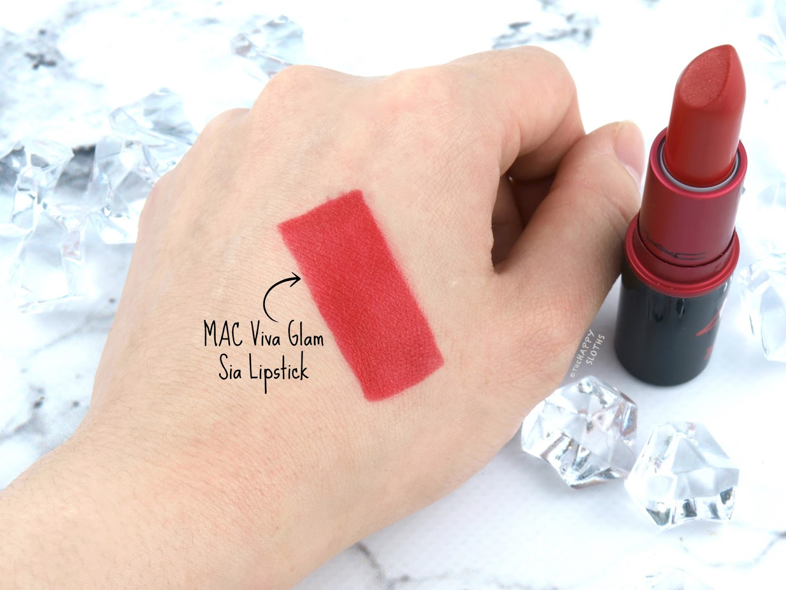 MAC | Viva Glam Sia Lipstick: Review and Swatches