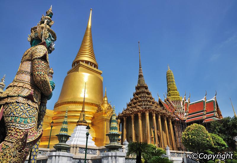 Sharing The Grand Palace Bangkok Thailand