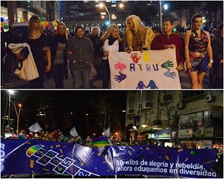 Marcha de la Diversidad. 2015, ATRU.