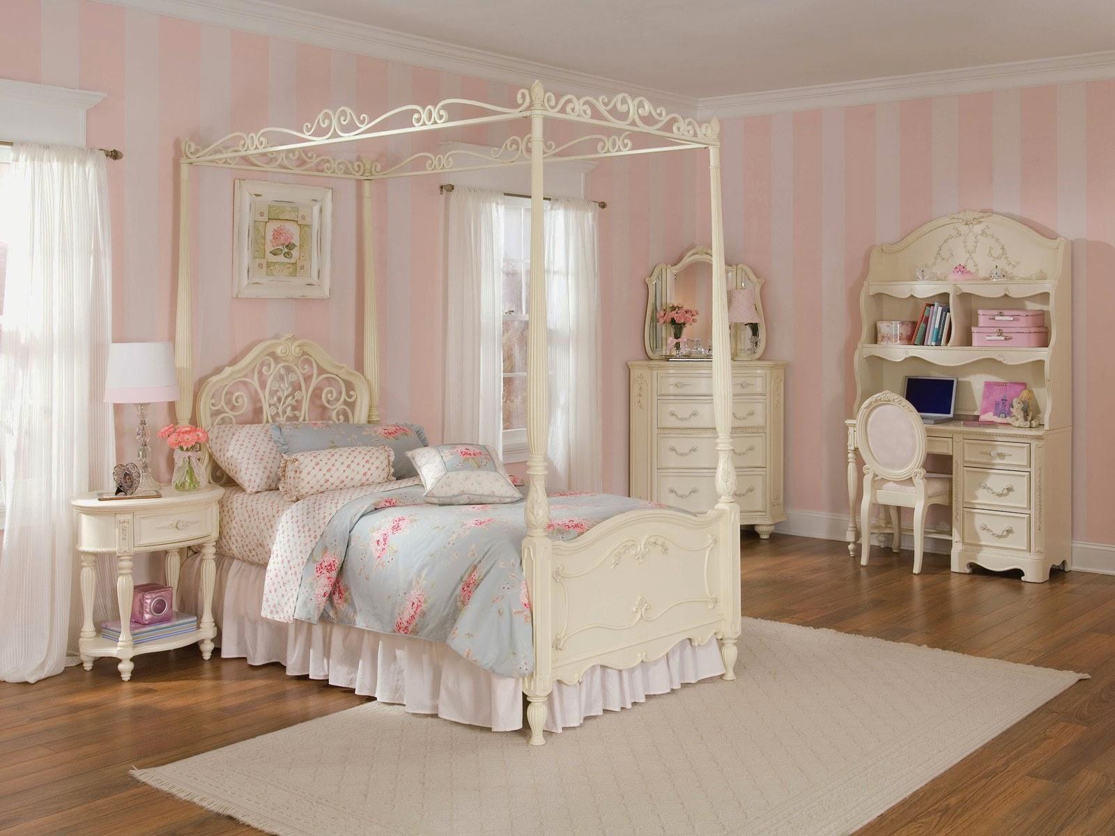 kamar tidur cantik untuk anak perempuan