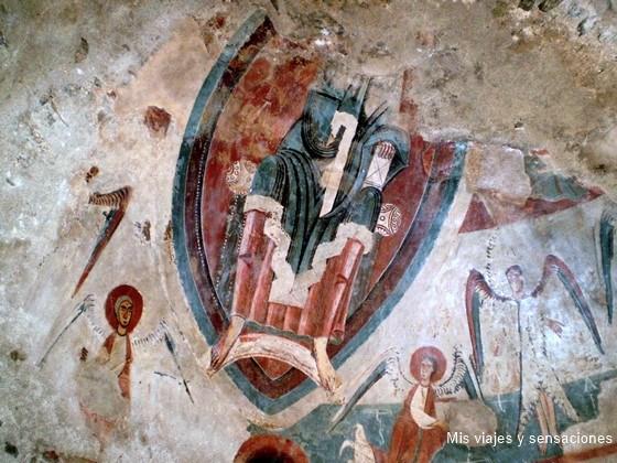 Frescos iglesia San Serni de Baiasca, Pirineo Catalan
