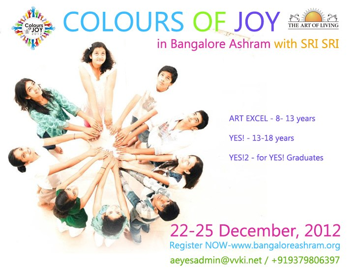 Colours of Joy with Sri Sri Ravi Shankar