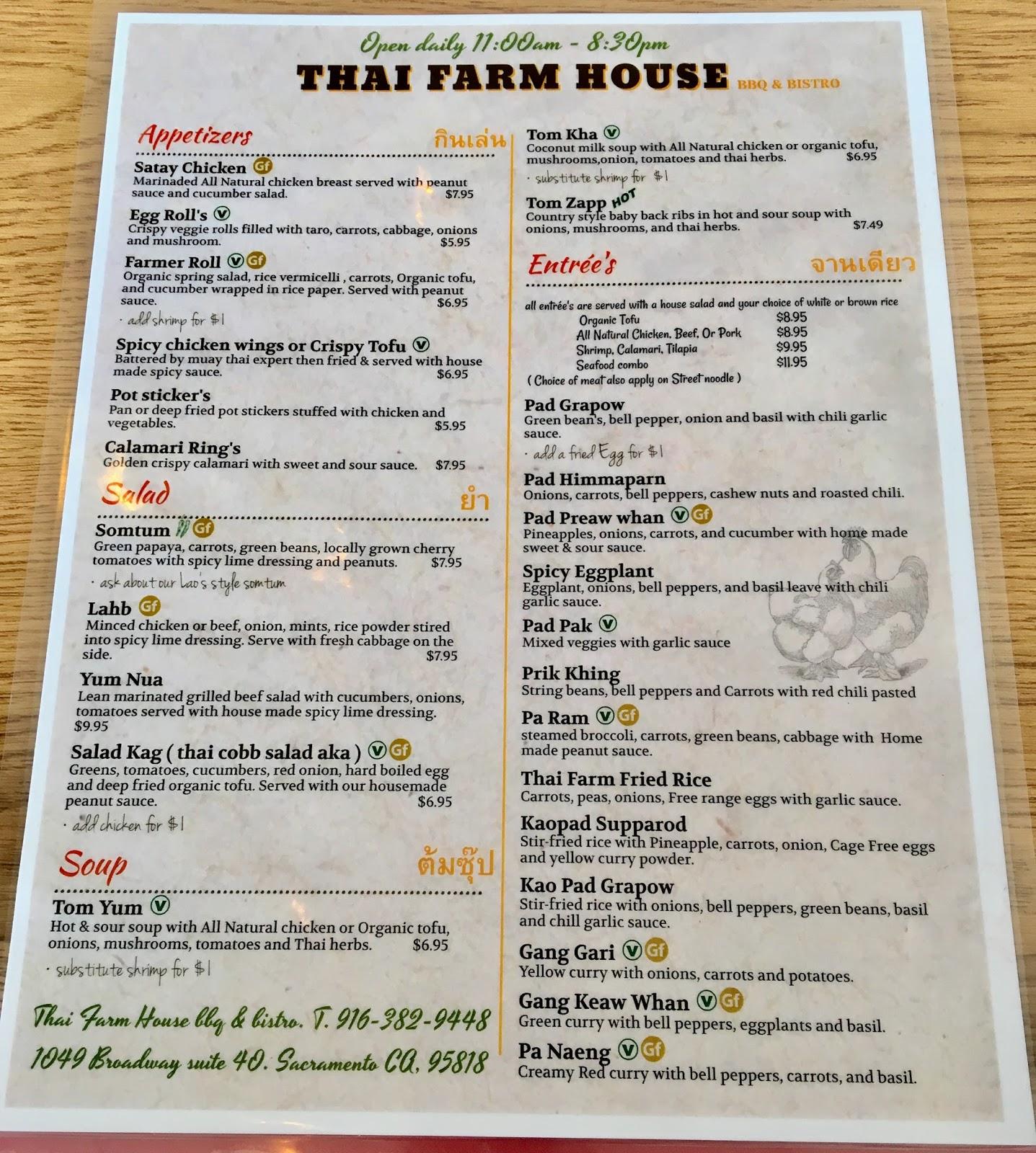 Thai Restaurant Sacramento