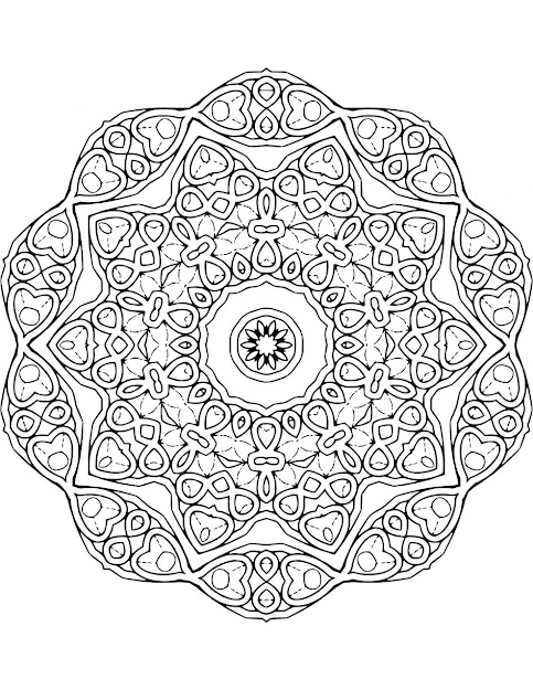 Kaleidoscope Coloring Pages Free Download Kaleidoscope Coloring Pages   Thecoloringpage For Kids