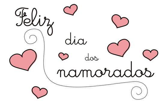 Feliz Dia Dos Namorados Cereja Feminina