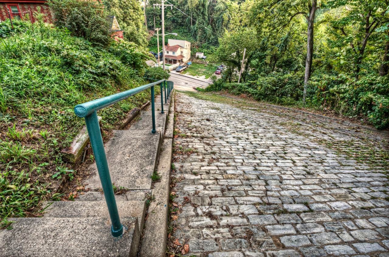 Las calles más empinadas del mundo. Canton Avenue, Pittsburgh, Pennsylvania