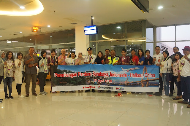 Lion Air Buka Rute Surabaya - Haikou