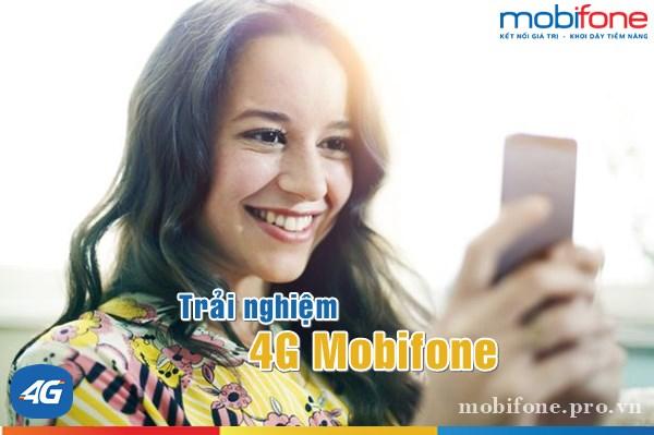 Các gói cước 4G Mobifone