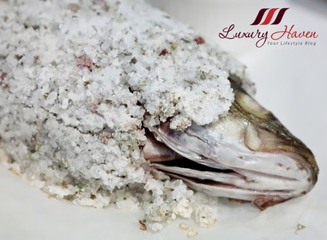 etna italian restaurant fresh seabass salt crust reviews