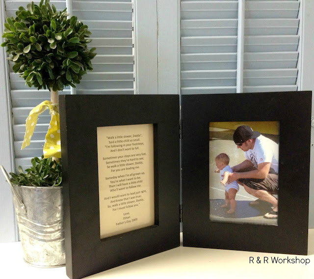A Father's Day poem and gift idea - Father's lead the way!