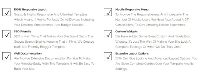 shine blogger template overview