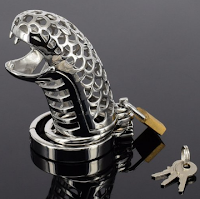 snake chastity cage!