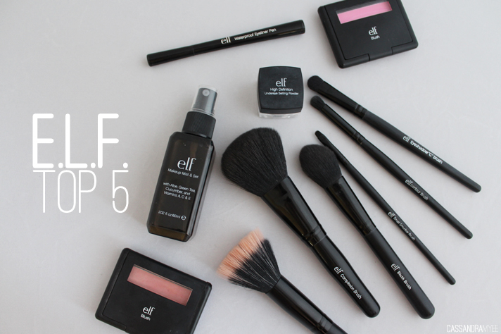 E.L.F. COSMETICS // Top 5 Must Haves - cassandramyee