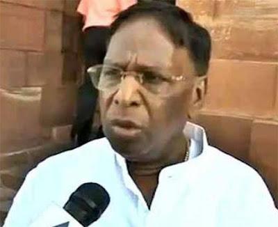 पुडुचेरी के पूर्व मुख्यमंत्री रामासामी का 80 साल की उम्र में निधन
