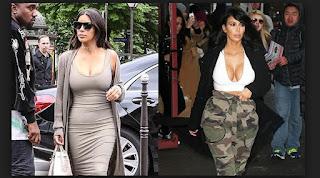 kimberly kardashian por perder peso
