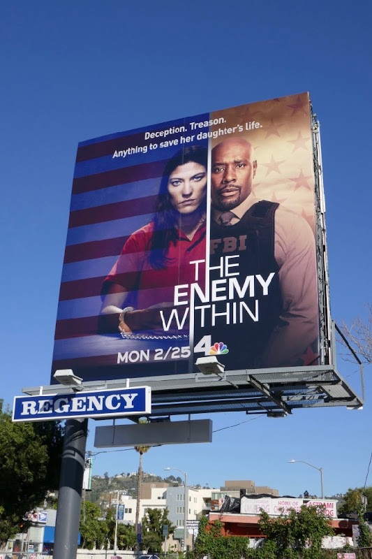 Enemy Within season 1 billboard